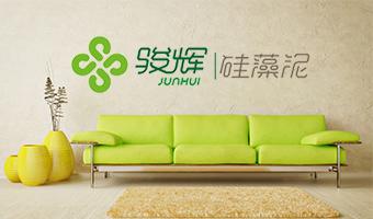 骏辉硅藻泥网站设计项目